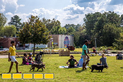 Art on the Beltline now extends to the Westside Trail where family-friendly, free events include traditional African dance lessons and performance, circus acts, live music and community empowerment opportunities are now available.  (Jenni Girtman / Atlanta Event Photography)
