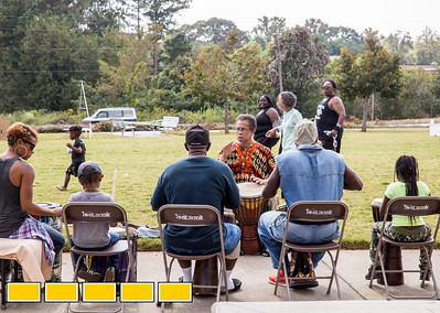 Art on the Beltline now extends to the Westside Trail where family-friendly, free events include traditional African drumming and dance lessons and performance, circus acts, live music and community empowerment opportunities are now available.  (Jenni Girtman / Atlanta Event Photography)