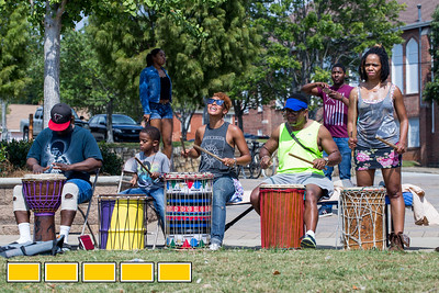 Art on the Beltline now extends to the Westside Trail where family-friendly, free events include traditional African drumming lessons and performance, circus acts, live music and community empowerment opportunities are now available.  (Jenni Girtman / Atlanta Event Photography)