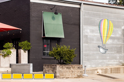 Mad Hat Creative now has office space in Inman Park, a block off the Eastside Beltline.  The Beltline is continuing to evolve with new art installations, murals and sculptures.  (Jenni Girtman / Atlanta Event Photography)
