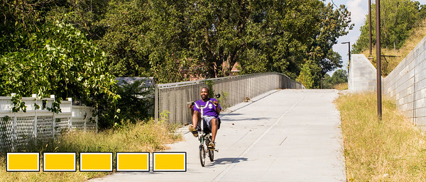 The Westside Trail of the Beltline from Adair Park to Washington Park is now officially open.  The path has original sculpture, art and murals already along the path as well as access points, lighting and security cameras all along the newly opened trail.  (Jenni Girtman / Atlanta Event Photography)