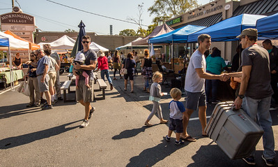 Morningside Farmers' Market is open every Saturday, year round, at 1393 N. Highland Ave. where organic meats, breads, local food, pop-up breakfast, coffee and fresh fruits and vegetables are available weekly.  (Jenni Girtman / Atlanta Event Photography)