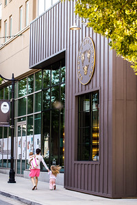 Westside Provisions District offers shopping on both side of Howell Mill Road.  The retail options in the area include the Savannah Bee Company where beauty products are available using the benefits from beeswax, royal jelly and honey.  (Jenni Girtman / Atlanta Event Photography)