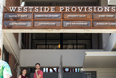 Westside Provisions District offers shopping on both side of Howell Mill Road.  The retail options in the area include Perdot West, Calypso St. Barth, Savannah Bee Company and many more.  (Jenni Girtman / Atlanta Event Photography)