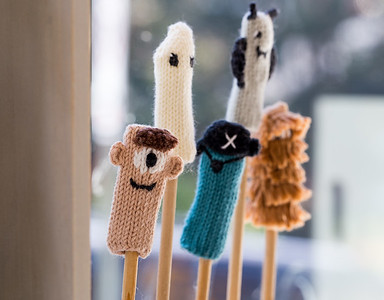 Blabla Kids has a store front and studio in Virgina Highlands where Susan Pritchett and Florence Wetterwald creations are available.  The hand-made, modern, knitted dolls are made of all-natural materials and are whimsical and cuddly.  Blabla sells wholesale to boutiques all over the world.  (Jenni Girtman / Atlanta Event Photography)