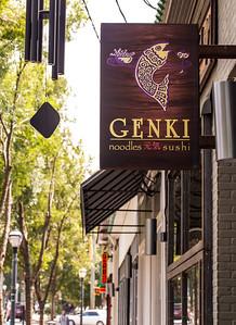 Genki is a sushi bar in Virginia Highlands on N. Highland Ave.  (Jenni Girtman / Atlanta Event Photography)