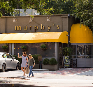 Tom Murphy's 35 year-old-restaurant is in Virginia Highlands at the corner of N. Highland Ave and Virginia Ave.  Murphy's  (Jenni Girtman / Atlanta Event Photography)