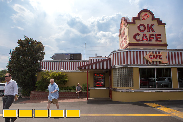 The OK Cafe on West Paces Ferry Road NW has been open since 1987.  They're a southern restaurant who focuses on traditional southern hospitality and serves some of their own family recipes.