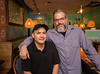 Beni's Cubano restaurant in Marietta is the sister spot to Tin Lizzy with a menu all it's own.  Kitchen Manager, Israel Torres, left and General Manager Brent McGhee, right, provide the traditional food of Cuba in a casual, Havana environment.  (Jenni Girtman / Atlanta Event Photography)