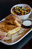 Beni's Cubano restaurant in Marietta is the sister spot to Tin Lizzy with a menu all it's own.  The traditional Cuban sandwich is roasted pork, ham and swiss cheese with pickles, mustard and garlic aioli served on pressed Cuban bread in a casual, Havana-feeling environment.  (Jenni Girtman / Atlanta Event Photography)