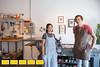Dianna Settles and Witt Wisebram started Hi-Lo Press, their Atlanta print studio and art gallery in January of 2016.