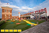 Enjoy beautiful views of Atlanta from the roof of Ponce City Market while playing carnival games and putt-putt at Skyline Park.