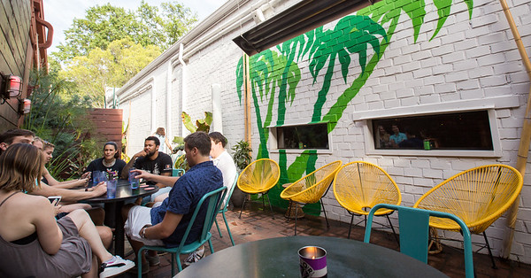 Eat Me Speak Me at SOS is a semi-permanent pop-up restaurant held at Decatur's SOS Tiki Bar, 340 Church Street.  The menu changes seasonally and when the chef and staff aren't in Decatur they pop up in the Old Fourth Ward at Chrome Yellow Trading.  (Jenni Girtman/ Atlanta Event Photography)