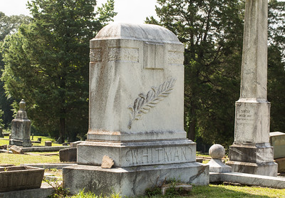 South-View Cemetery, founded in 1886, is more than 100 acres south of downtown where race or religion never dictated who could be buried here.  The Whitman sisters, the four daughters of a slave turned pastor, were a successful vaudeville act in the early 1900s, unique as a women-owned, African-American production company that performed nationally and internationally. Alberta 'Bert' often performed in drag with her sisters.  The Whitman Sisters would become the highest paid black act on the black vaudeville circuit.  (Jenni Girtman / Atlanta Event Photography)