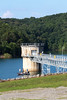 Construction of the Blue Ridge Dam began in 1925 by the Toccoa Electric Power Company and it went into operation July 1, 1931. At the time of its completion, the dam had a generating capacity of 20 megawatts and was the most modern power dam in the TEPCO system, requiring a staff of six employees.