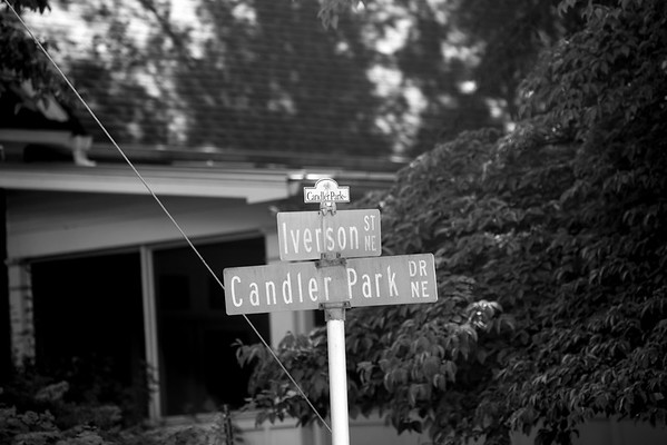 The Candler Park neighborhood is east of Little Five Points and west of Lake Claire.  Candler Park Dr. from Iverson St. south of McLendon Ave. to Mary Lin Elementary school on Candler Park Dr. past Candler Park Golf Course.  (Jenni Girtman/Atlanta Event Photography)