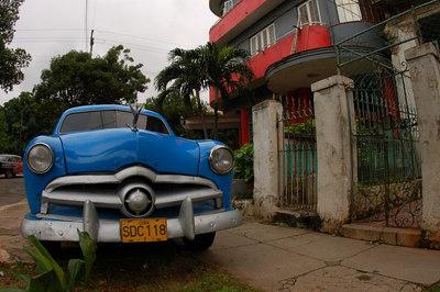 Streets of Vedado Havana