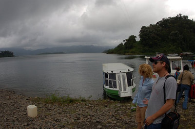 Lake Arenal and the ride to Monteverde