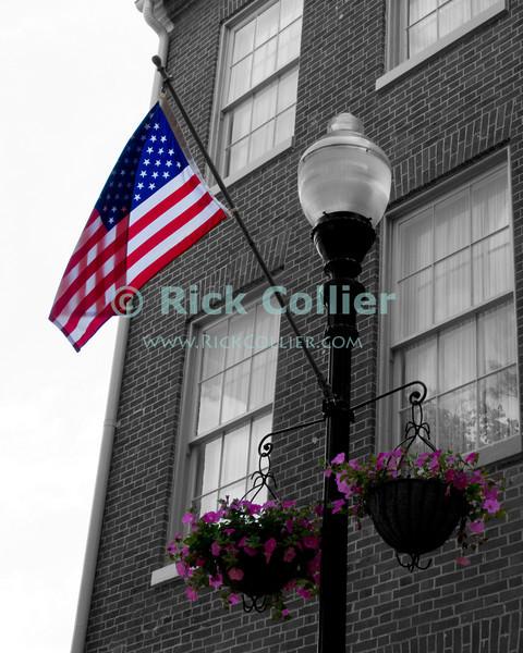 On Main Street, Winchester, Virginia, USA.  © Rick Collier