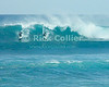 Surfers enjoy the winter waves.  North Shore, Oahu, Hawaii.  © Rick Collier<br /> <br /> <br /> <br /> <br /> <br /> <br /> <br /> Hawaii Hawai'i Oahu North Shore beach surf waves ocean sea seashore surfer surfers surfing breakers