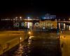 "Nile River, Esna, Egypt -- Passing through the lock at the Esna dam after dark.    © Rick Collier / RickCollier.com.<br /> <br /> <br /> <br /> travel; vacation; tour; tourism; tourist; destination; Egypt; Nile; ""Nile River""; boat; boats; Esna; lock; ""Esna dam""; ship; ships; cruise; ""cruise ship"""