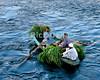 "Nile River, Egypt -- Workmen crossing the Nile. © Rick Collier / RickCollier.com.<br /> <br /> <br /> <br /> travel; vacation; tour; tourism; tourist; destination; Egypt; Nile; ""Nile River""; boat; boats;"