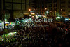 Cairo, Egypt -- Egyptians pack the streets and markets until late at night during the holy month of Ramadan. © Rick Collier / RickCollier.com<br /> <br /> <br /> <br /> <br /> travel; vacation; destination; Egypt; Cairo; night; bazaar; market; marketplace; lights; street; shops; stalls; vendors; crowds; pedestrians; shoppers;