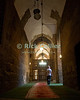 "Cairo, Egypt -- The entrance hallway, entering the Sultan Hassan mosque. © Rick Collier / RickCollier.com<br /> <br /> <br /> <br /> travel; vacation; tour; tourism; tourist; destination; Egypt; Cairo; mosque; madrassa; Sultan; Hassan; ""Sultan Hassan""; arch; arches; hall; hallway"