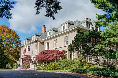 Exterior view, private residence, East Boulevard, Rochester, NY. Photo by Brandon Vick Photography LLC http://brandonvickphotography.com/