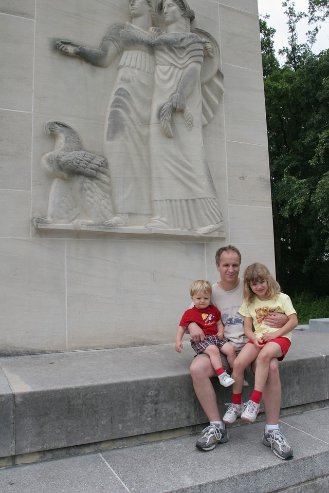 At the Eternal Peacelight Memorial