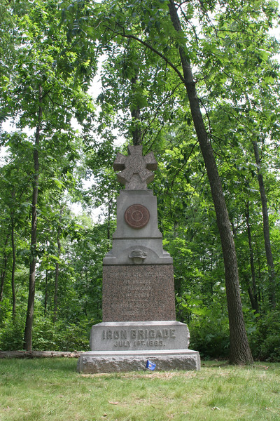 2nd Wisconsin of the Iron Brigade - McPherson's Woods