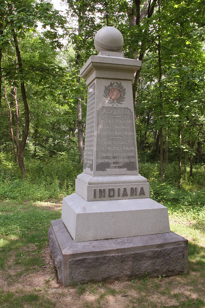19th Indiana of the Iron Brigade - McPherson's Woods