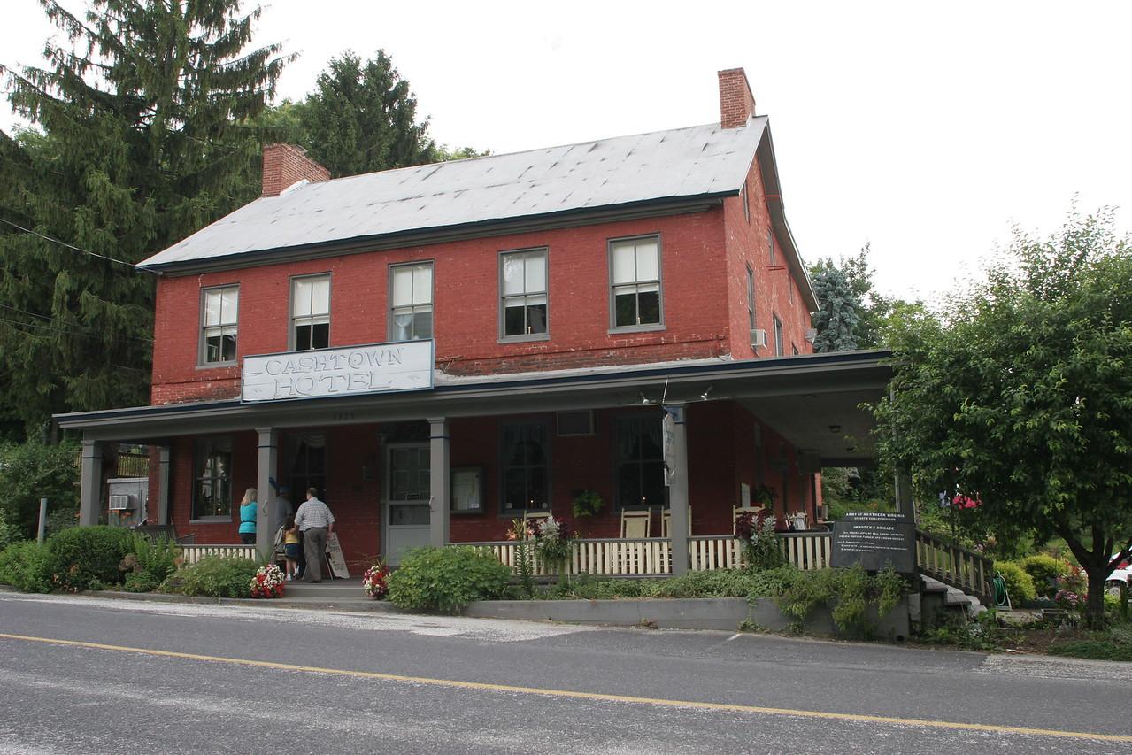 Cashtown Inn - along the Confederate approach route