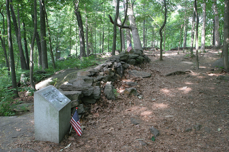 Looking along one of the positions held by the 20th Maine during its valiant and famous defense of the Union left flank on Little Round Top.