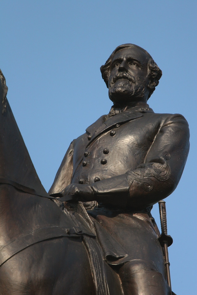 Robert E. Lee on the Virginia State Monument
