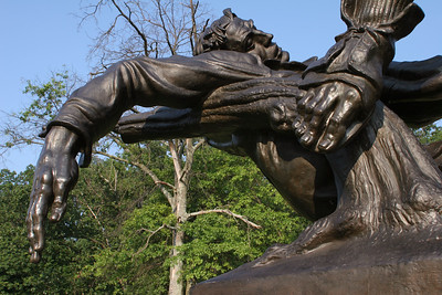 Closeup of Mississippi State Monument