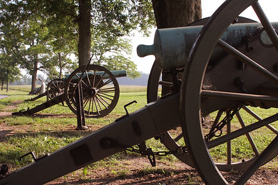 Cannons on Seminary Ridge