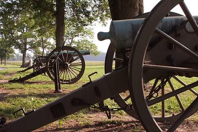 Cannons on Seminary Ridge