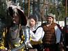 """Lined up for a march around the fort - Das TeufelsAlpdrücken Fähnlein (Devil's Nightmare Regiment) - <a href=""""http://www.landsknechts.org/"""">http://www.landsknechts.org/</a>"""