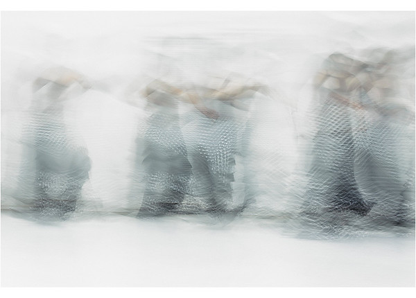Evolving, 2016 (print 2017) SFDT rehearsal at In Motion performing Arts Center  | Silver Metallic Paper, Fine Art Print