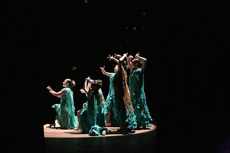 #6 Patricia Cinquemani, Anali Alcantara, Adriana Olivares Maria Corina Salcedo, Claudia Gonzales, Natalia Novela Flamenco Intimo Miami-Dade County Auditorium | May 30, 2015