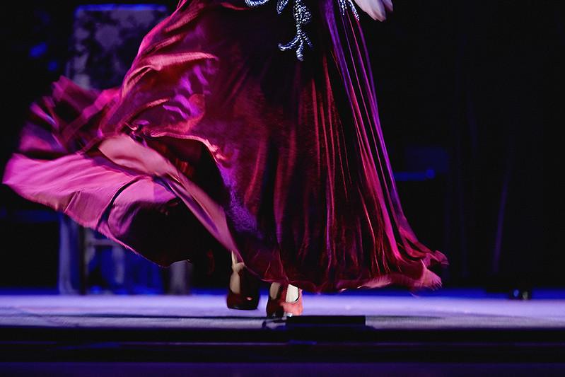 #18 Siudy Garrido| rehearsal of Flamenco Íntimo Miami-Dade County Auditorium | May 30, 2015