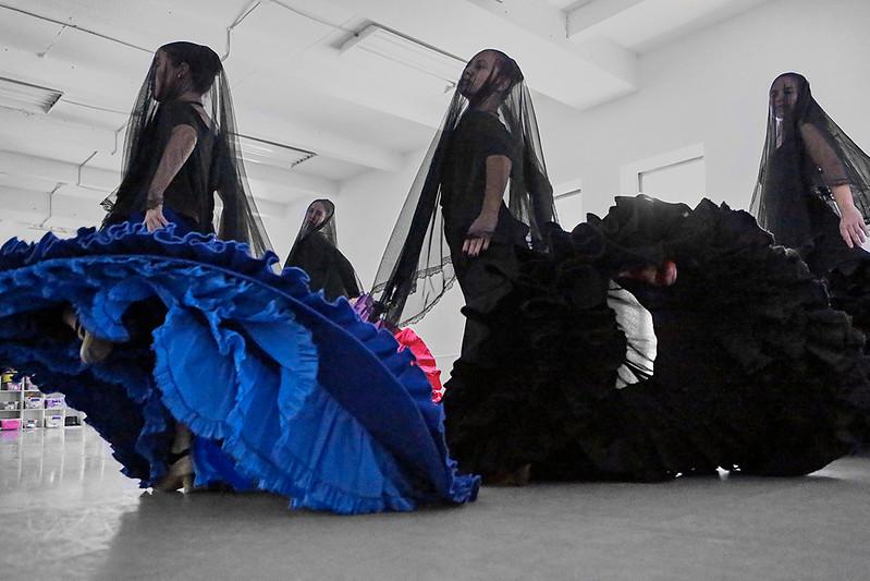 #25 Anali Alcantara, Patricia Cinquemani, Claudia Gonzalez Adriana Olivares | rehearsal of Amor Brujo In Motion Performing Arts Center | August 2016