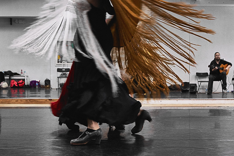 #21 SFDT | rehearsal of Amor Brujo In Motion Performing Arts Center | August 2016