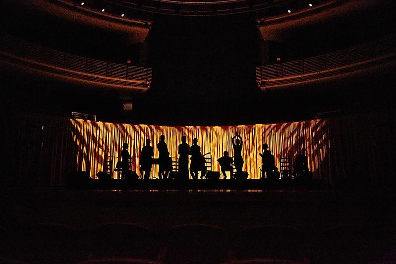 #20 SFDT | rehearsal of Flamenco Íntimo Adrienne Arsht Center Miami | December 17 ,2016