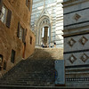Glimpse of the Duomo in Siena
