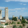 Building in San Gimignano - the old and the new