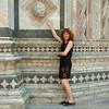 Sara at the Duomo in Siena