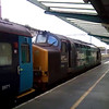 Video of 37 423 departing Carlisle