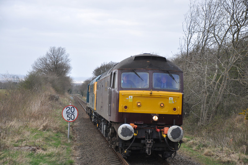 47786 (or in old money D1730 / 47138 / 47607 / 47821) <br /> <br /> Location: Gypsy Lane <br /> <br /> Date: 23rd April 2013 <br /> <br /> Working: 0Z47 09.10 Bo'ness - NYMR diesel convoy with 26038 / 20020<br /> <br /> This is one of Liz's pics that she has had published on<br /> <br /> Sulzerpower.com <br /> <br /> on there news page